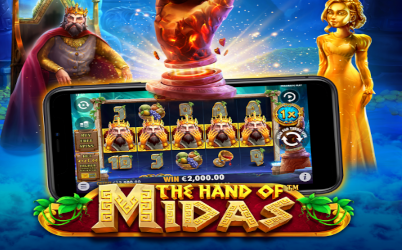 The Hand of Midas Online Slot