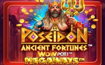 Ancient Fortunes Poseidon WOWPOT Megaways Pokie