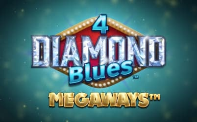 4 Diamond Blues Megaways Online Pokie