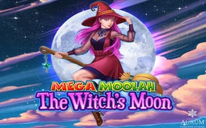 Mega Moolah The Witch's Moon Online Pokie