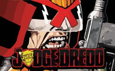 Judge Dredd Spilleautomat omtale