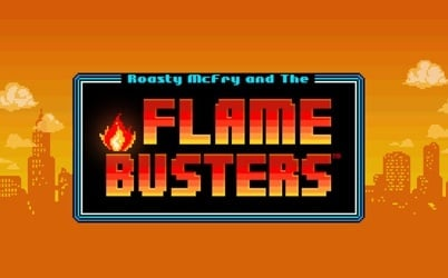Roasty McFry and the Flame Busters Online Pokie