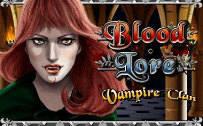 Blood Lore Vampire Clan Online Slot