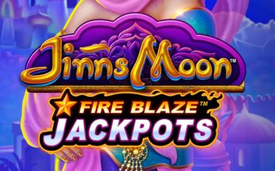 Fire Blaze Jackpots: Jinns Moon Spielautomat