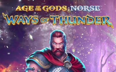 Age of the Gods: Norse Ways of Thunder Online Slot