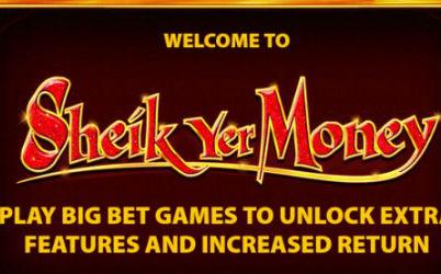 Sheik Yer Money Online Slot