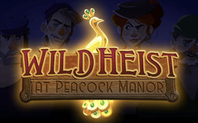 Wild Heist at Peacock Manor Online Pokie