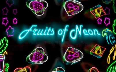 Fruits of Neon Online Slot
