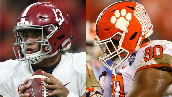 CFP Semifinals Betting 2018: Tua, Lawrence Create Quandary
