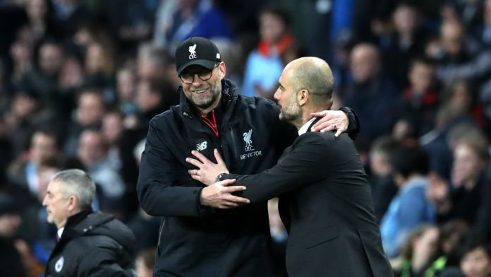 Man City Overtake Liverpool As Premier League Favourites