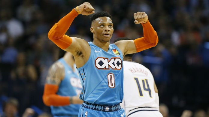 With Second 20-20-20 NBA Game Ever, Westbrook Sparking OKC