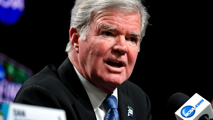 NCAA's Emmert Reiterates Stance Against Sport Betting