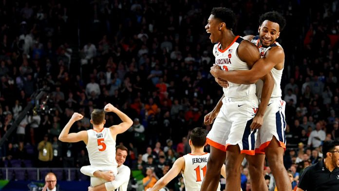 Virginia Favored, Low O/U Total Set in 2019 NCAA Title Game