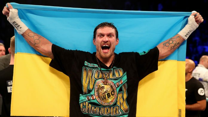 Oleksandr Usyk Big Betting Favorite for Heavyweight Debut
