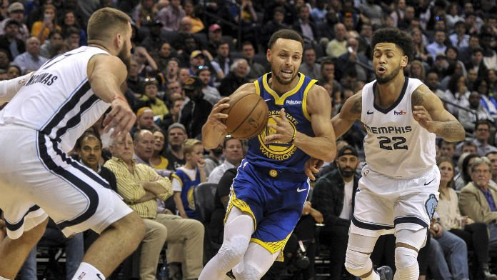 Curry OK After Ankle Injury Scare, Will Skip Warriors Finale