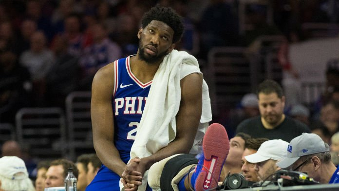 How Embiid Injury Should Impact NBA Playoff Bets on 76ers