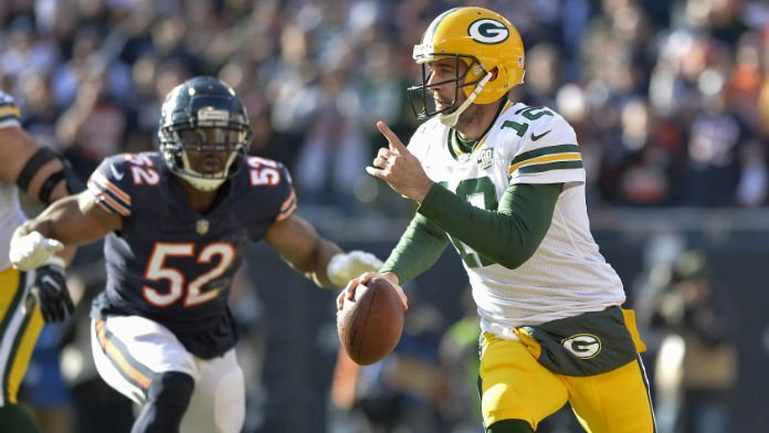 Rodgers' Packers Surprising Co-Favorites in NFC North Odds
