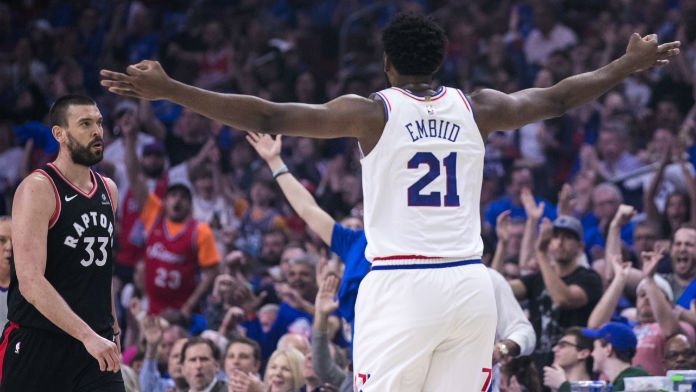Sixers New Series Favorite After Taking 2-1 Lead Vs. Raptors