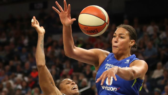 Major WNBA Trade of Cambage Fails to Move 2019 Title Odds