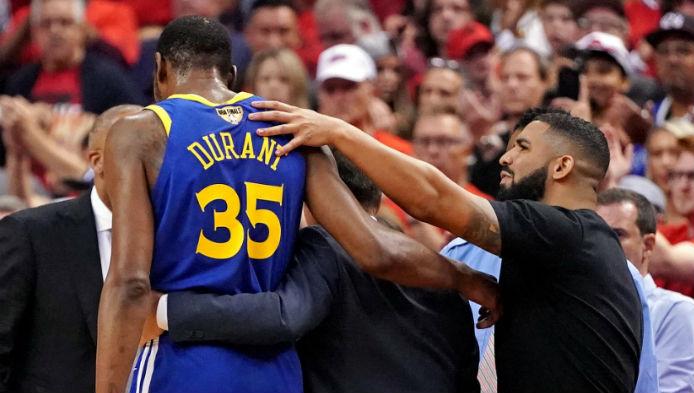 Durant Injury Shakes Up NBA Futures Market and Free Agency