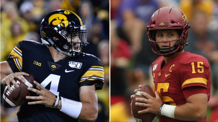 Iowa Sports Betting in Spotlight Ahead of Cy-Hawk Showdown
