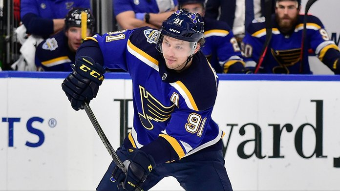How Tarasenko Injury Could Impact Blues Stanley Cup Odds