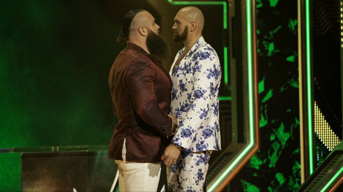 Tyson Fury A Heavy Favorite In WWE Crown Jewel Match