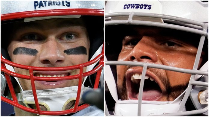 Cowboys vs. Patriots Could be Most Bet Game of NFL Season