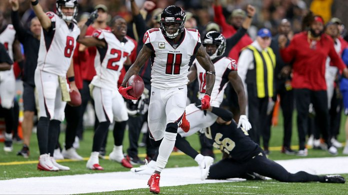 Saints-Falcons Thanksgiving Prop Bets & Betting Lines To Back