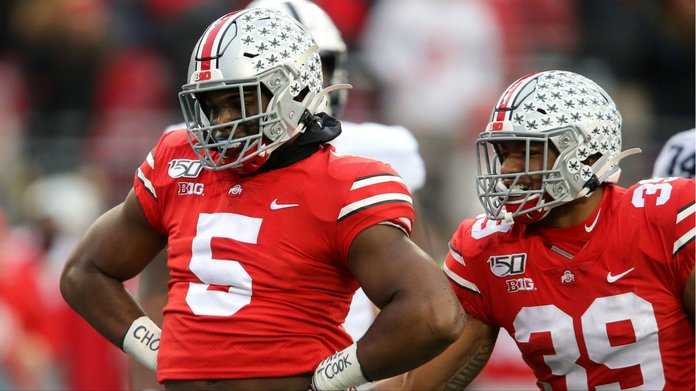 Betting Favorite Ohio State Moves To No. 1 In CFP Rankings