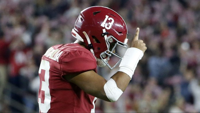 Tagovailoa NFL Announcement Impacts Alabama 2020 Betting Odds