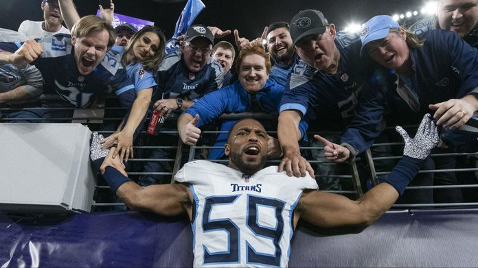 Slips: Stunning Titans Win Pays Handsomely For Sportsbooks