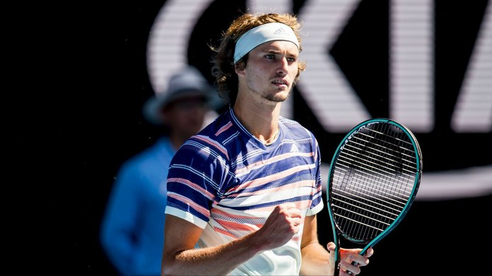 Zverev books first Grand Slam semifinal spot