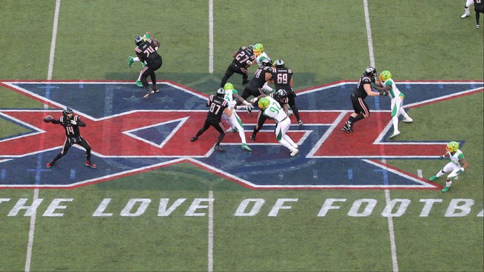 SLIPS: XFL Sports Betting Interest Strong in Inaugural Week