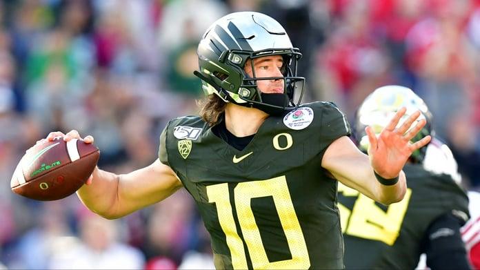Justin Herbert NFL Draft Odds: Where Will Oregon QB Land