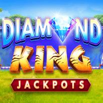 Diamond King Jackpots Logo