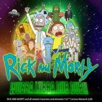 Rick and Morty Wubba Lubba Dub Dub Logo