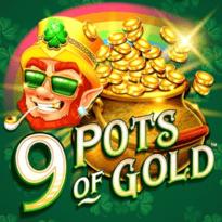 9 Pots of Gold Logo