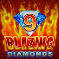 9 Blazing Diamonds Logo