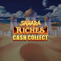 Sahara Riches: Cash Collect Logo