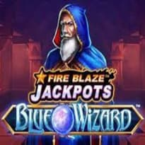 Fire Blaze: Blue Wizard Logo