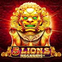 5 Lions Megaways Logo