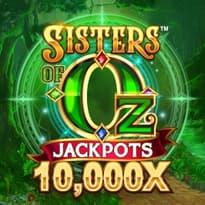 Sisters Of Oz Jackpots Logo