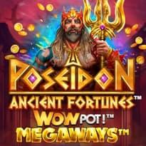 Ancient Fortunes: Poseidon WOWpot Megaways Logo
