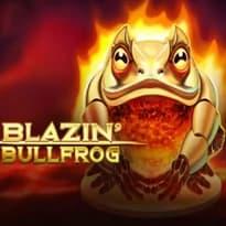 Blazin' Bullfrog Logo