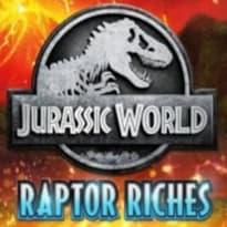 Jurassic World: Raptor Riches Logo