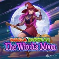 Mega Moolah The Witch's Moon Logo
