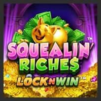 Squealin' Riches Logo