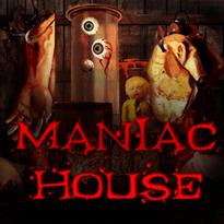 Maniac House Logo