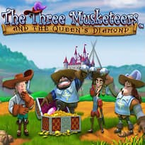 The Three Musketeers and the Queen's Diamond Logo